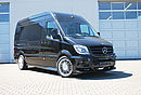"Sprinter SP6 black, middle long (wheelbase 3.665 mm), with 20"" VEST 3 wheels"