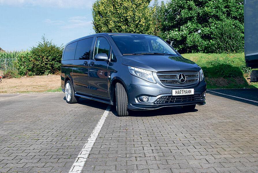 Revêtement Volant Mercedes-Benz w447 Vito Viano V-Classe balancent 543-1