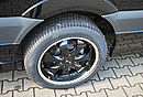 Sprinter SP6 extralang, schwarz, mit Zaro Felgensatz schwarz lackiert