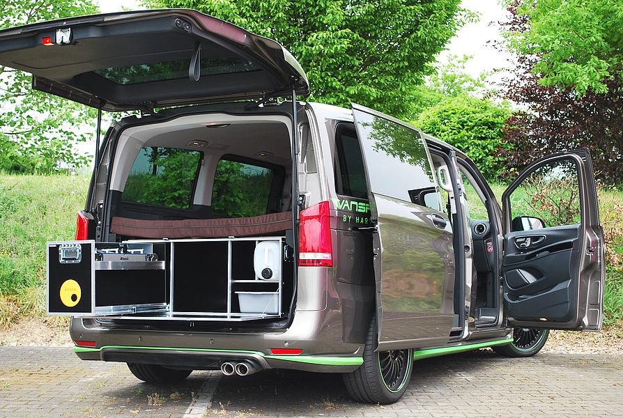 Mercedes Benz Finanzierung >> Das Camping-Modul für Mercedes Vans