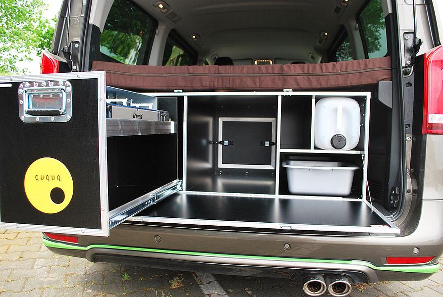 das camping modul fuer mercedes vans