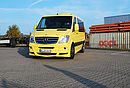 "Sprinter SP6 middle long, (wheelbase 3665 mm) yellow, with 20"" ZARO wheels"