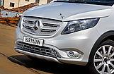 Vorderseite des Mercedes VP Gravity silber