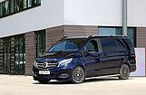 Mercedes Van schwarz