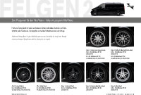 Wheels 2 Prospekte Viano
