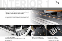 Door sill panels, carpets and pedal covers Prospekte Viano