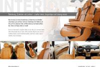 Leather interior Prospekte Viano