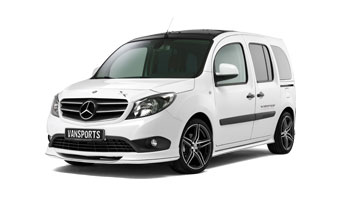 [Translate to englisch:] Mercedes Citan Tuning-Programm CP LINE