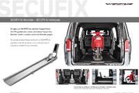 Motorradverlade-System SECUFIX Prospekte Viano