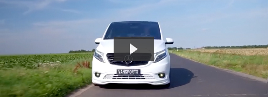 Mercedes Vito 119 Mixto Video
