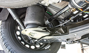Mercedes V-Klasse Luftfederung