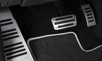 Mercedes X-Klasse Pedalaufsätze